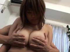 Subtitled Adult bbw tan Japanese non-professional sizeable tits fondling