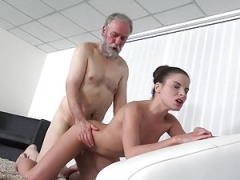 TeenMegaWorld -Mature n Young- Mature fella cums into a fresh mouth