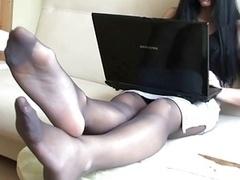 Nylon Feets 17