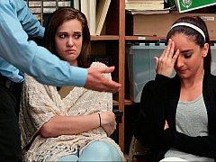 За кулисами, Минет, Две девушки, Группа, В офисе, Полиция, Украденные видео, Втроем