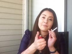 ビッチ, 喫煙