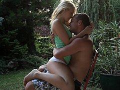 Young Leony April in romantic sex