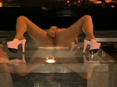 Latex fetish adult entertainment movie with a bunch of sex toys