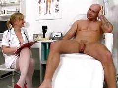 A boy receives HJ from dirty Mom i`d like to fuck Gabina