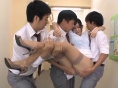Asiatisch, Blasen, Hochschule, Japanische massage