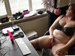 Excited brunette and moreover fleshy Soccer mom Laura Louise individual delight