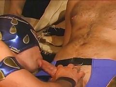 Mexican Luchadores's Group intercourse