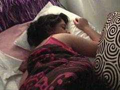 Chambre à dormir, Brunette brune, Couple, Dortoir, Petite amie, Naturelle, Seins naturels, Pov