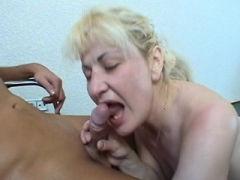 Grown-up czech blonde in amateur Point of view