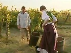 Horny French villagers try backdoor