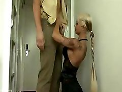 Policeman gets a little other treatment with hot mouth and additionally pink slit