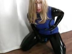 woman mask dildo training