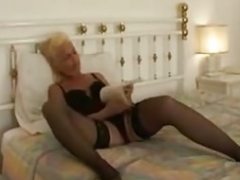 Blonde Grown-up and Man