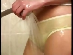 18-19 year old Having Fun In Shower