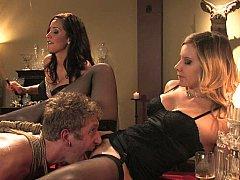 美女, ブロンド, 足, 女, 女 人男 人, 愛人, ストッキング, 三人