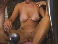44 Complete years Housewife Masturbates At Home