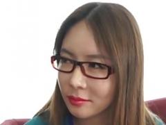 Amateur, Asiatique, Chinoise, Lunettes, Japonaise, Coréenne