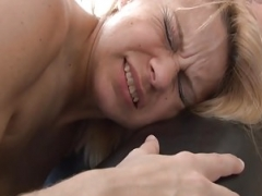 Unbelievable french eager mom hard sodomized n pink slit gaped in 3way