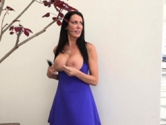 Get down and dirty True MILFS Reagan Foxx gets an ultimate birthday have an intercourse