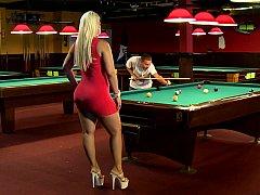A tick blonde women with big fat ass