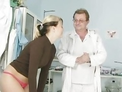 Misa visiting gyno clinic to have vagina speculum revised