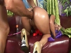 Filthy bitch asss riding cock and plus gets part3