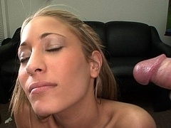Attractive, Shy, Hot Tits, Perfect Ass... and besides gets facial cumshot!