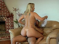Sweet blonde consumes erotic pleasure