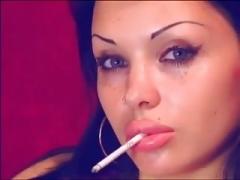 Sexy Smoking Gal