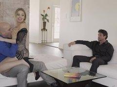 Luxurious MILF is enjoying sex with girlfriend's BF