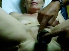 Extremely Hot Granny Orgasm