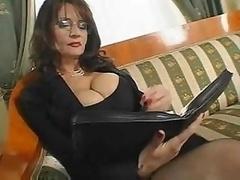 Mature Busty Secretary Sex
