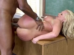 Teacher Alena Croft gangbanged by her black students
