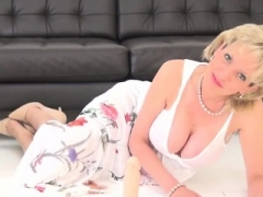 Adulterous english old lady sonia showcases her massive t