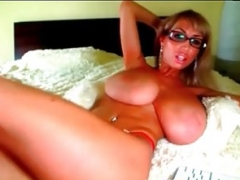 My Sexually available mom Exposed Big natural tits beauty trophy wife with to