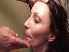 deepthroat worshipping Milf deep anal fucked