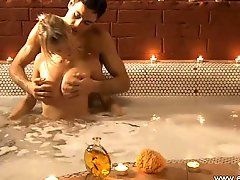 Erotic and plus drenched adore making