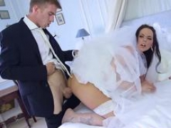 Brazzers - Large Asses Like It Large - Simony Diamond and Danny D - Large Butt Wedding Day