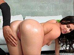 Hard spanking of a sweet ass