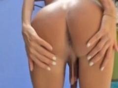 T-girl Backdoor Genital cumshot Hardcore F...