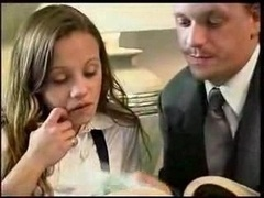 Pretty Good-looking Schoolgirl Gets A Private Lesson