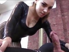Bondage, Femme dominatrice, Masturbation, Esclave