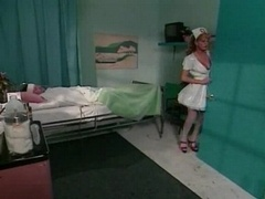 PVC nurse treats her patient