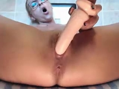 Freaky blonde inexperienced loves her toys