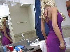 Блондинки, Минет, Платье
