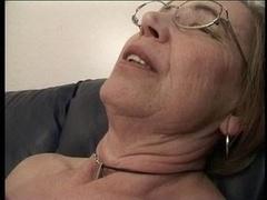Granny likes cock juice