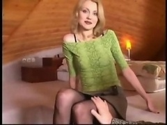 russian beauty Nicol fucked by grown-up guy