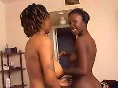 Real Non-pro Ebony Lesbians...Kyd!!!