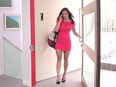 Cuarto de baño, Tetas grandes, Morena, Vestido, Maduro, Madres para coger, Mamá, Ducha