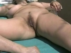 Busty Grown-up Amateur Wife Outdoor Toy Self-satisfaction